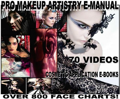 Product picture 800 MAC FACE CHART + BIBLE MAKEUP ARTIST MANUAL 70 VIDEOS!